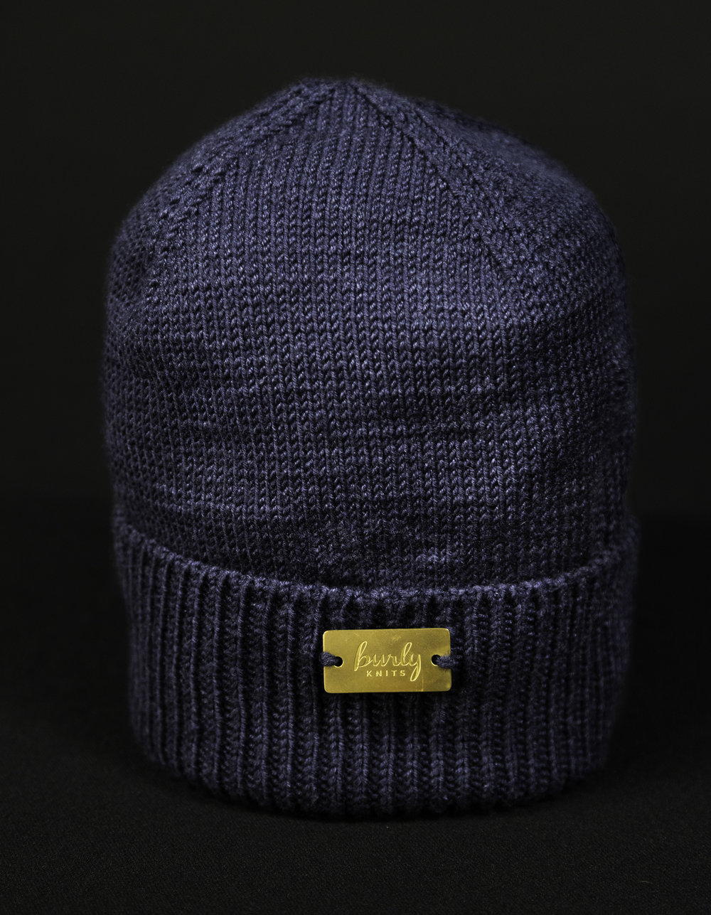Dark Navy Cashmere Touque