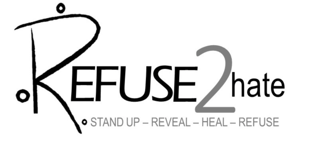 Refuse2hate - R2H is an organization devoted to empowering and engaging people around the world through the promotion of four primary actions. STAND UP against hatred. REVEAL who you are and what you believe. HEAL selflessly. REFUSE to resign.