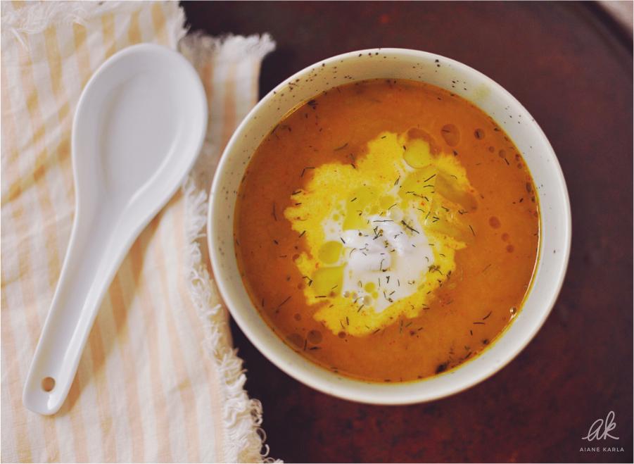 Vegan Potato-Leek Soup | Aiane Karla