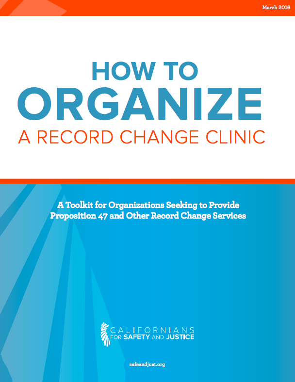 Organize a record change clinic