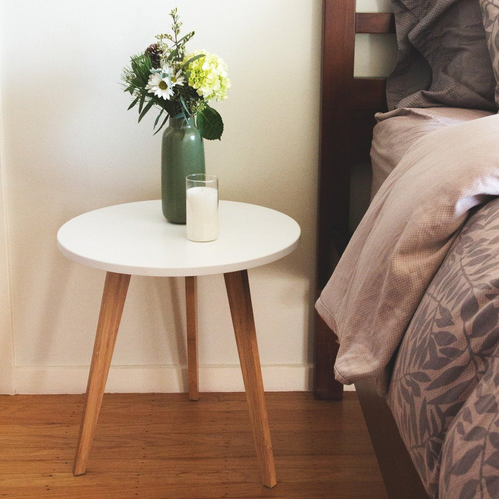 STNDRD Mid Century Modern End Table