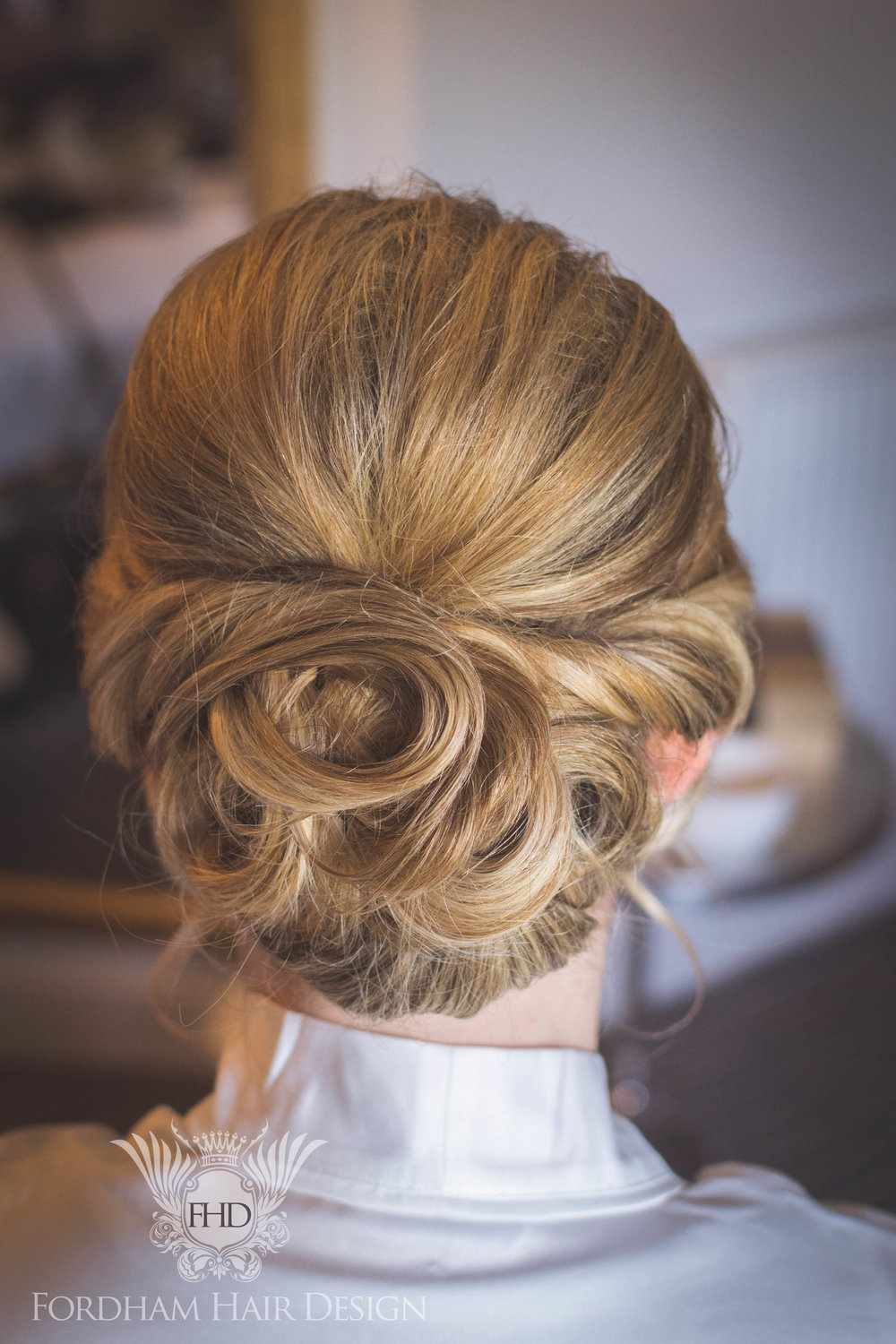 Bridal Hair Cotswold Gloucestershire