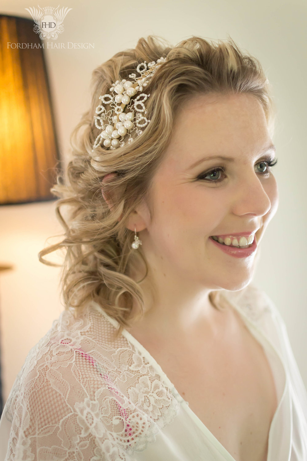 Eastington Park Wedding Hair