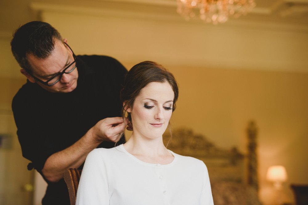 Wedding Hairdresser and make up artist Cotswolds