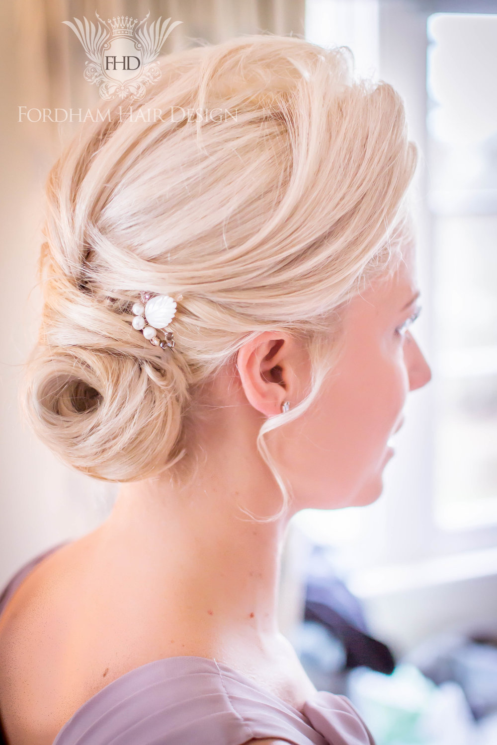 Stunning wedding Hair updo