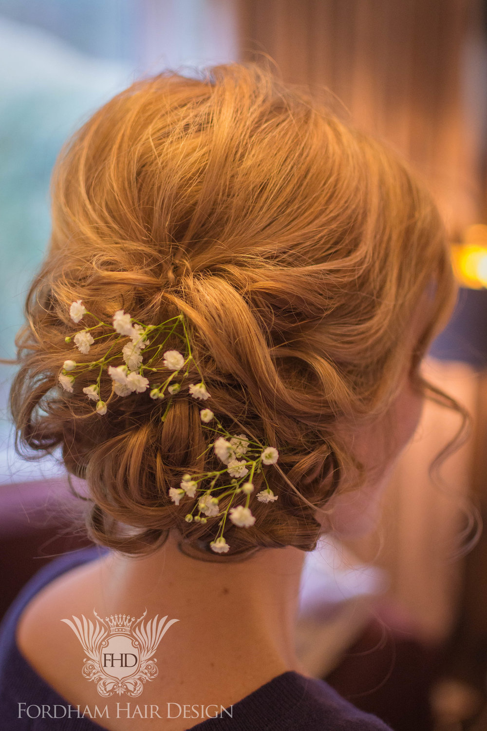 Relaxed Messy Wedding Hair