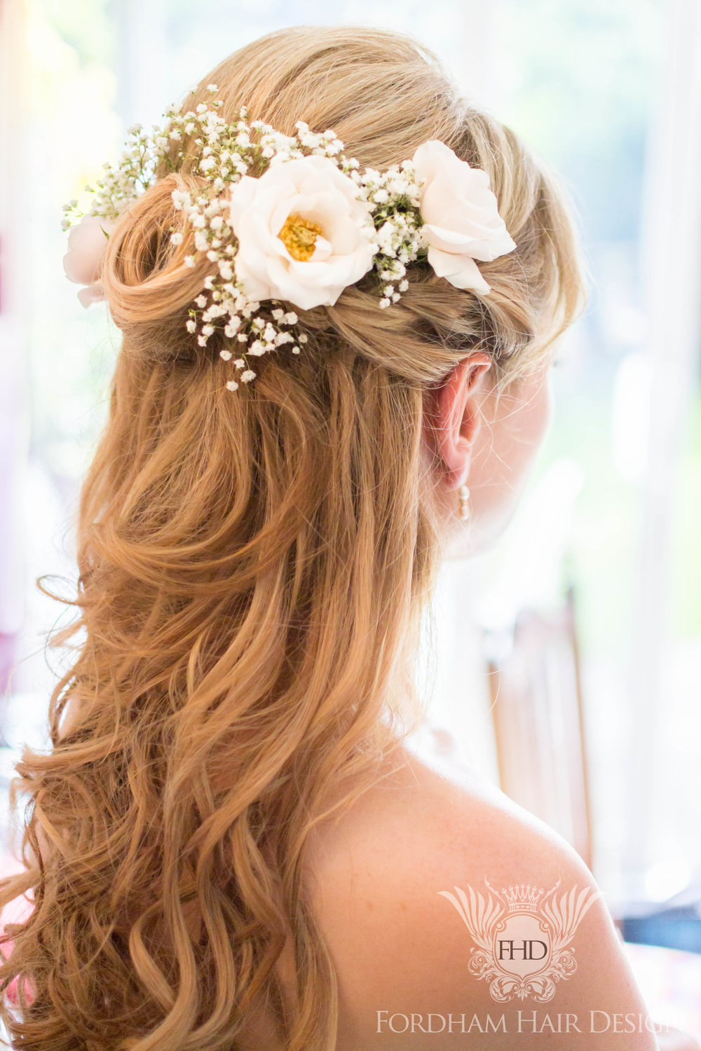 Berkley Castle Wedding Hair