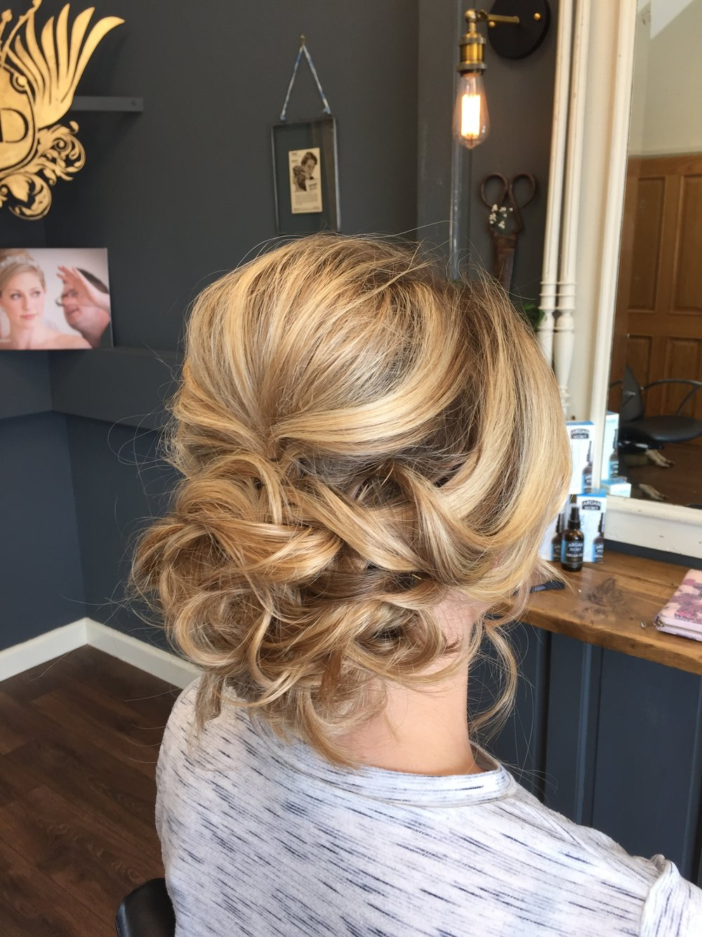 The Secret Salon Wedding Hair