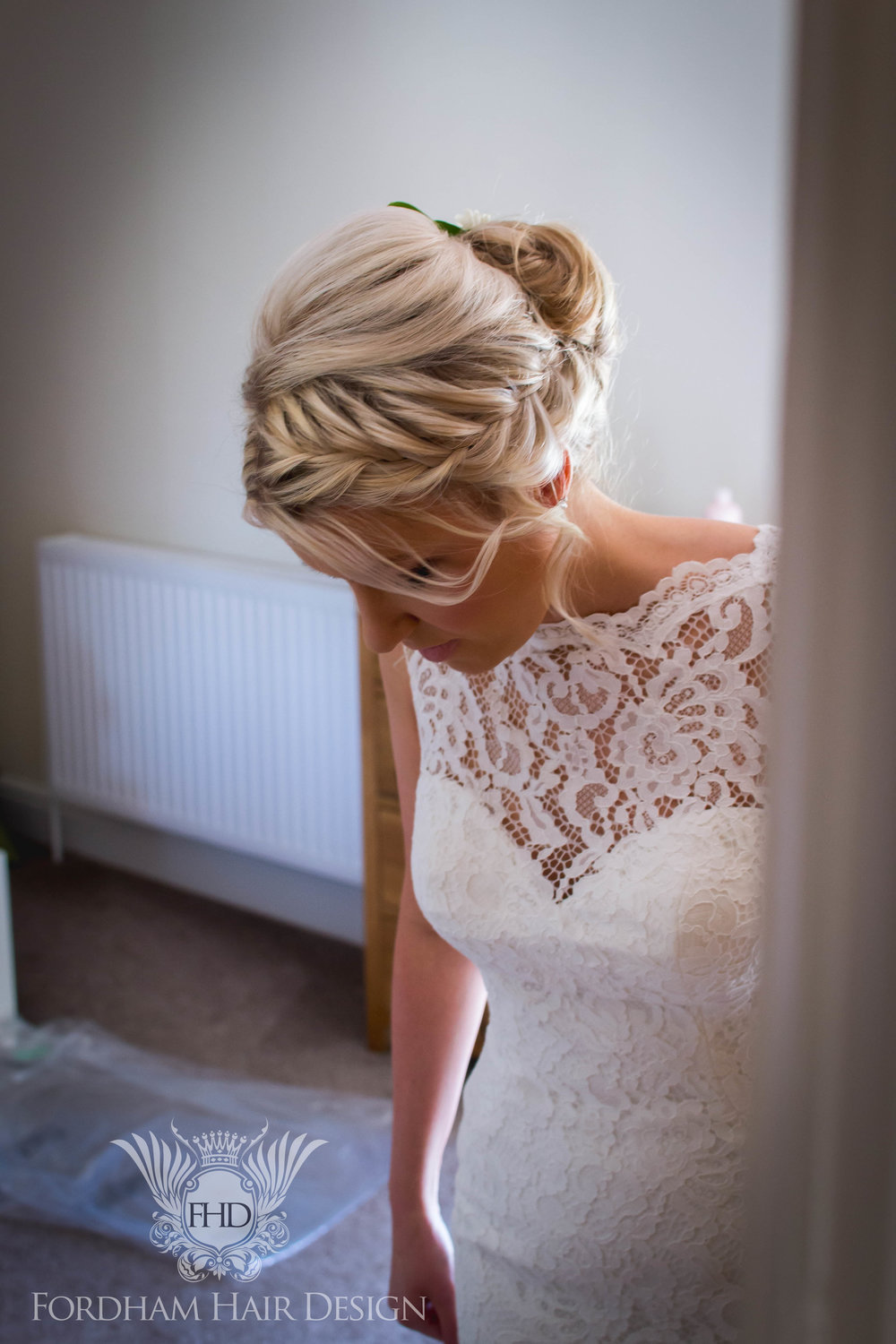 Boho Wedding Hair braid