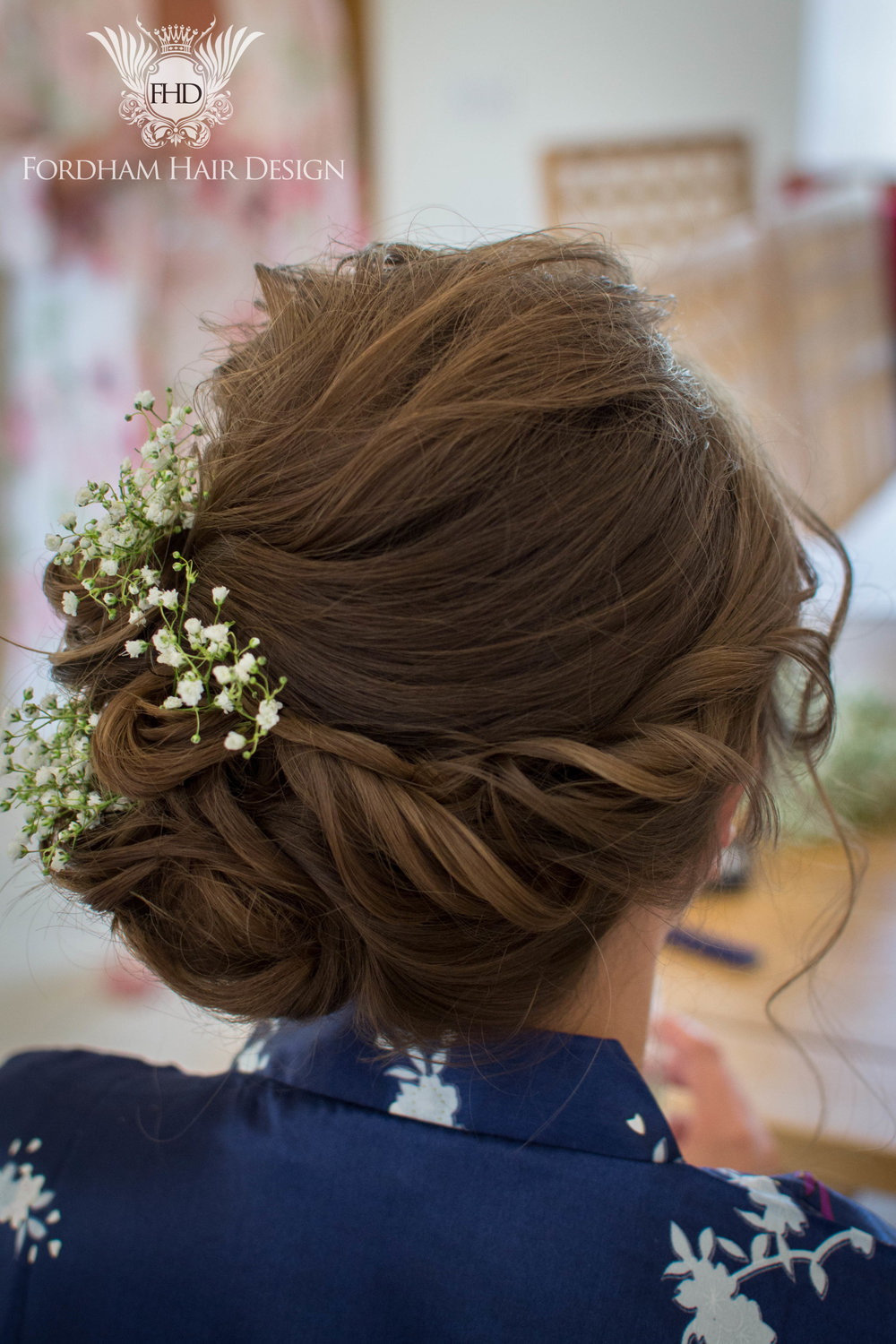 Kingscote Wedding Hairstylist