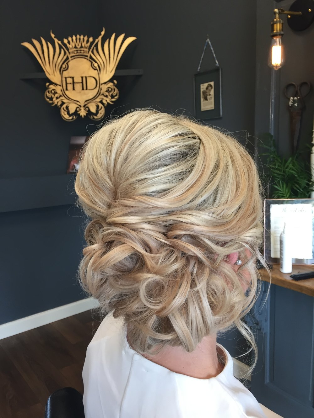 Ellenborough Park Wedding Hair