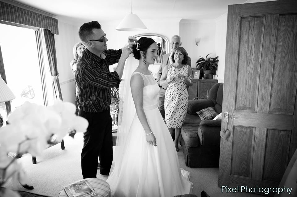 kingscote Barn Wedding Hairdresser
