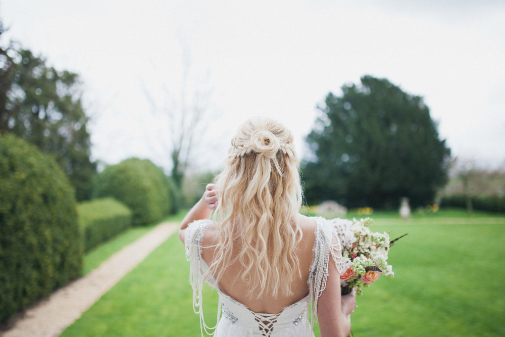 Elmore Court Wedding Hair
