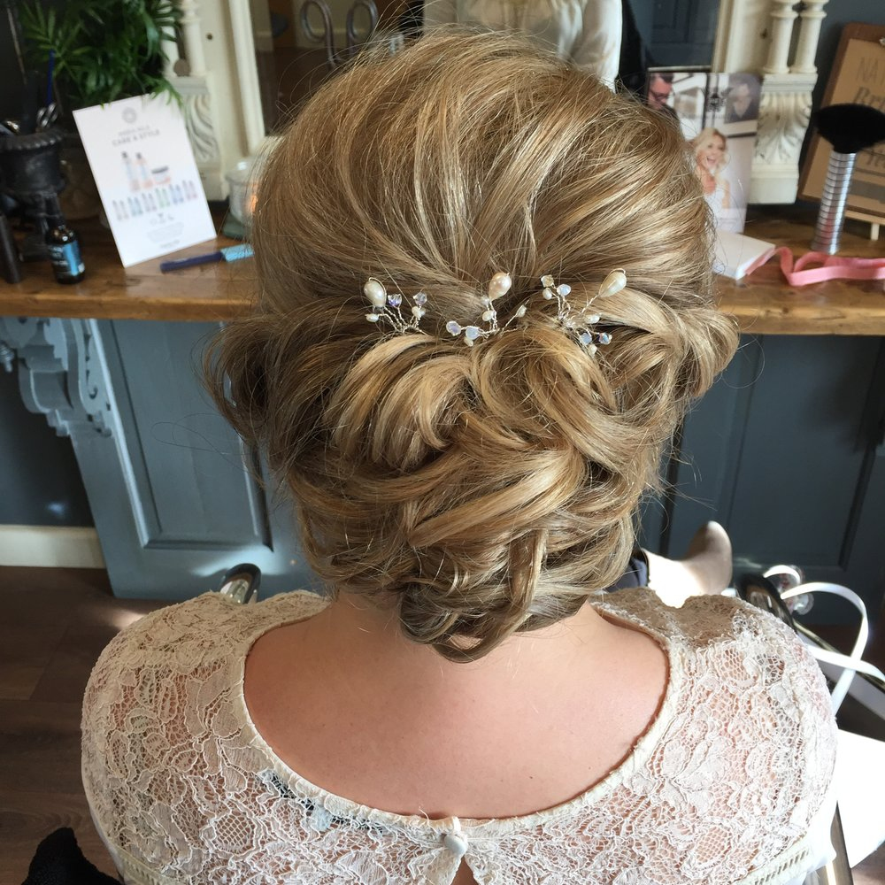 Wedding Hair detail