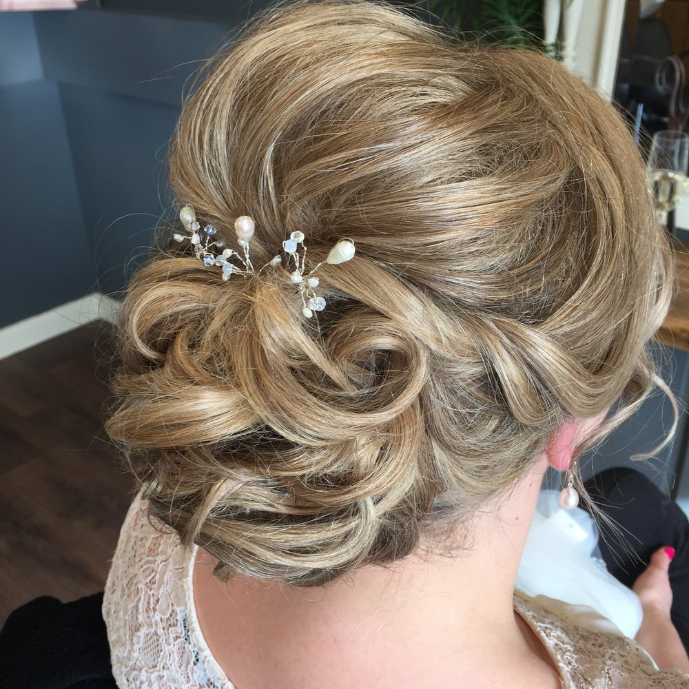 Wedding Hairstyle detail