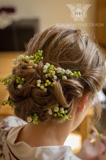 Cotswold Gloucestershire Wedding Hairdresser