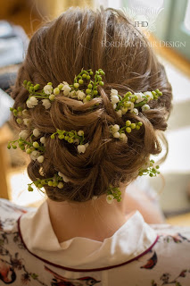 Wedding Hair Gloucestershire Kingscote