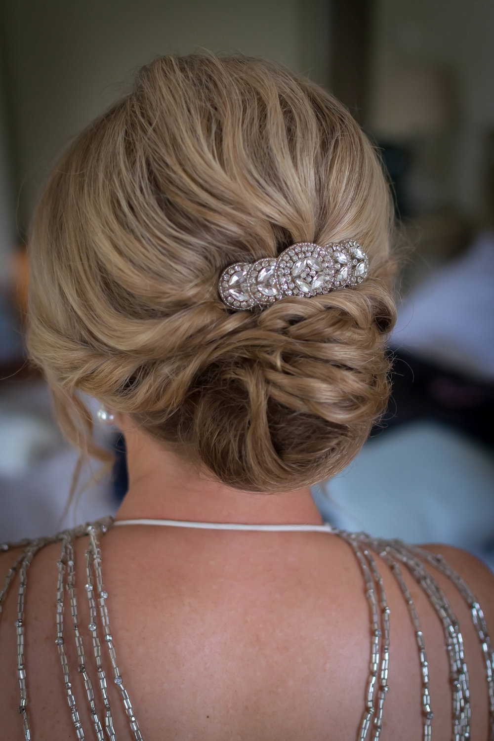 Great Tythe Barn Wedding Hair