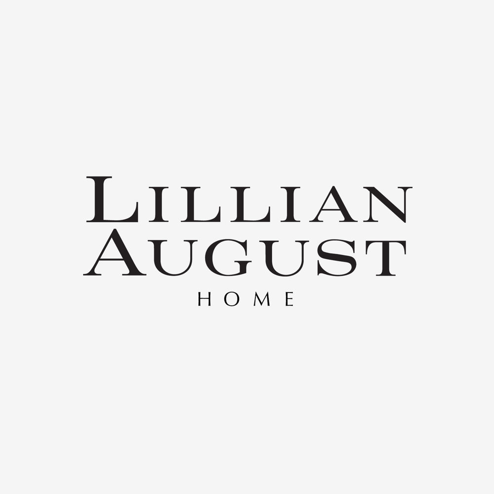 Lillian August - Approached over two decades ago by this home furnishings company, this logo was created for the designer herself, and the retail stores bearing her name.