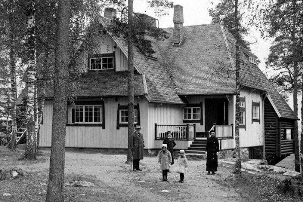 Sibelius at Home at Ainola