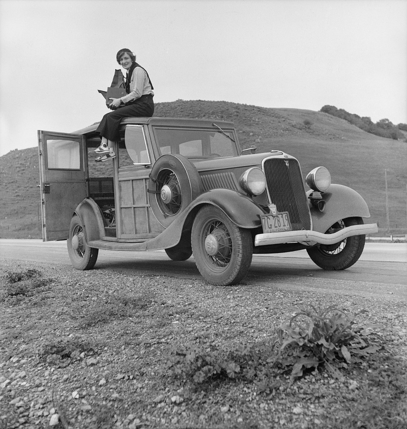 Paving the way for documentary photographers, Dorothea Lange is best known for her work for the Farm Security Administration (FSA). Lange believed photography was a tool to provoke society to correct injustices.  © Library of Congress, Prints & Photographs Division