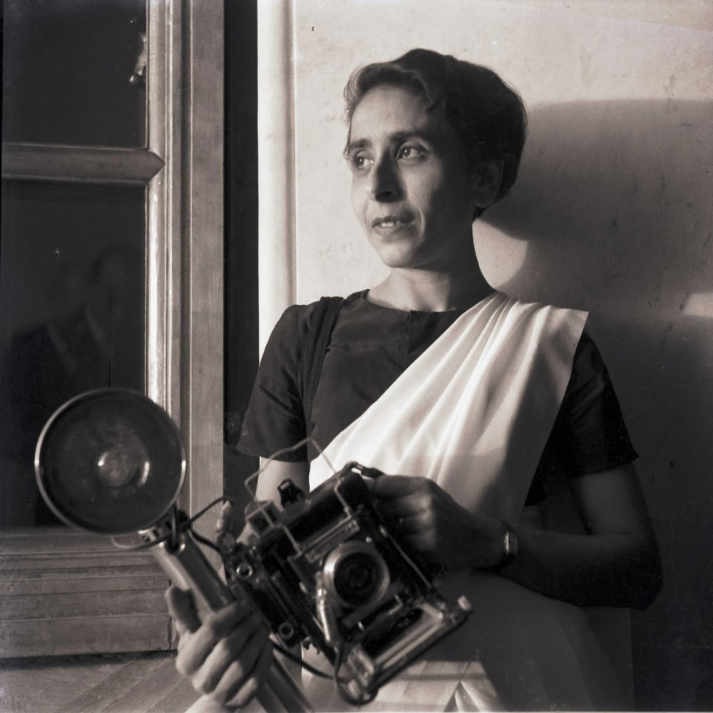 Homai Vyarawalla broke through social barriers as India's first woman photojournalist. Her images appeared in numerous publications, usually under the pseudonym Dalda 13. She is most known for her images of India's struggle for independence from Britain in the 1940s.  Photo Courtesy of HV Archive/ The Alkazi Collection of Photography