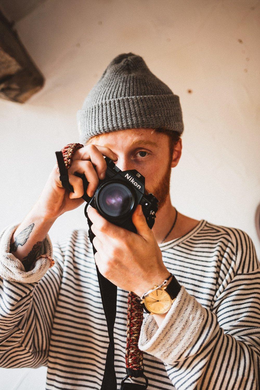 Harry Renton Hippo Magazine Self Portrait
