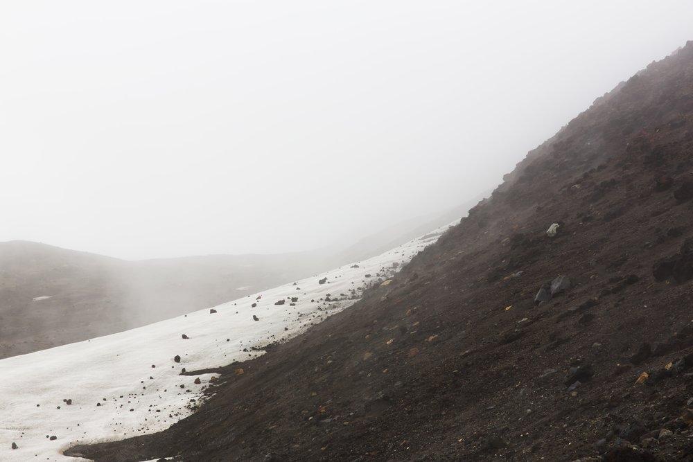 Thomas Seear-Budd Foggy Hillside Hippo Magazine