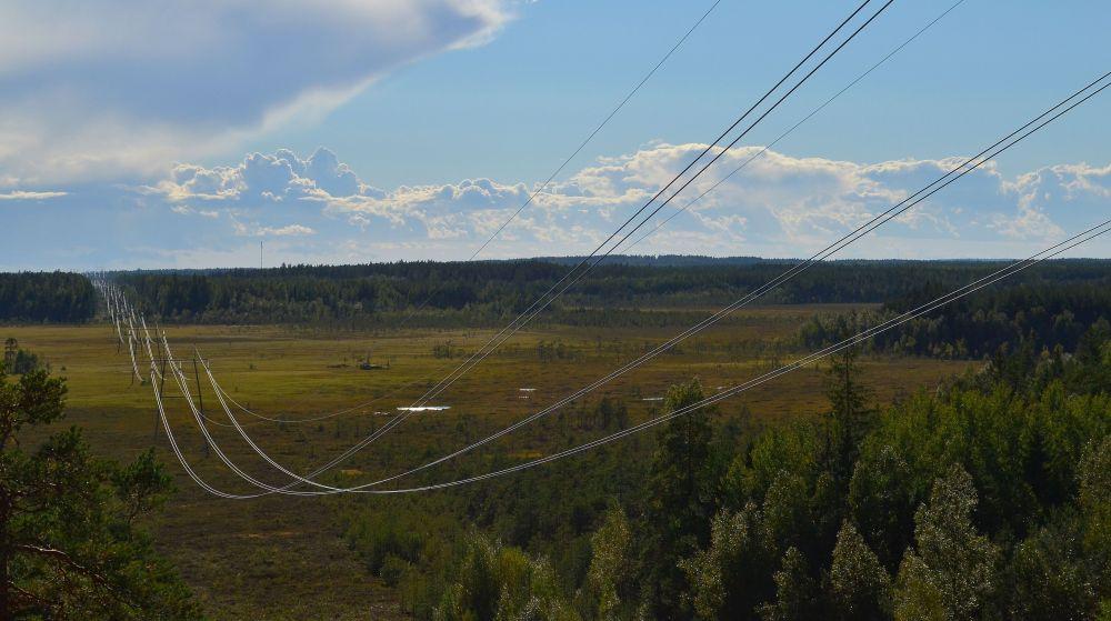 Valkmusassa voit palata 2000-luvun perinnemaisemaan. Puiston halkaisevat jylhät voimalinjat, jotka ovat käytössä vielä tänäkin päivänä.