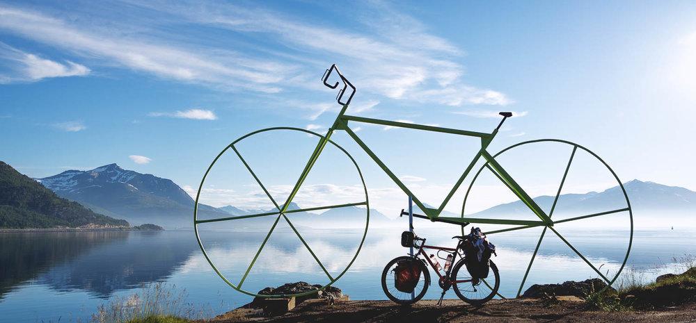 Kuka lie muinainen jättien kansa polkenut näillä pyörillä?