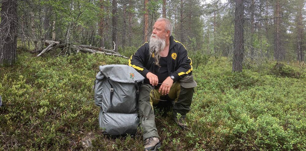 Kullankaivaja Olli Järvenkylä.
