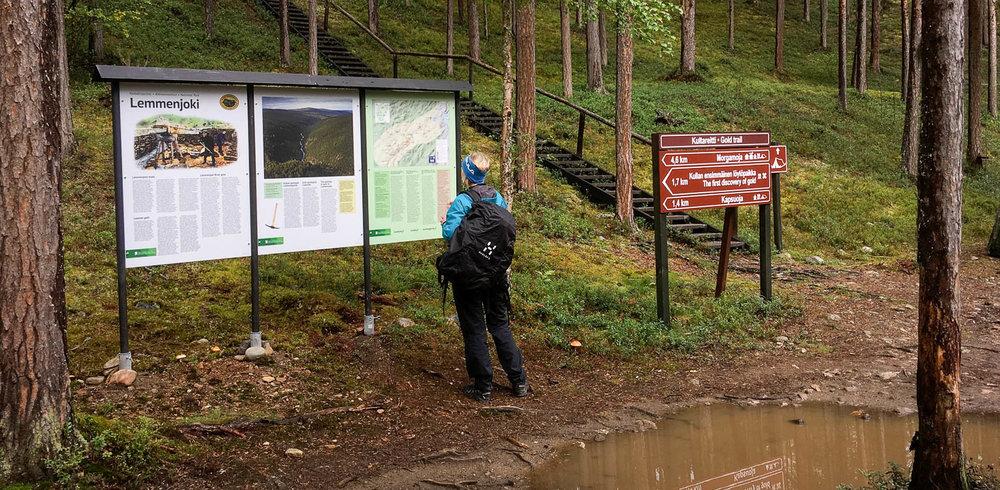 Lemmenjoen kansallispuisto.