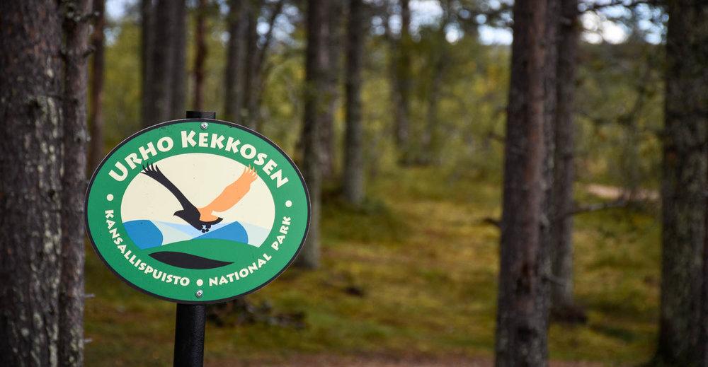 Tervetuloa Urho Kekkosen kansallispuistoon.