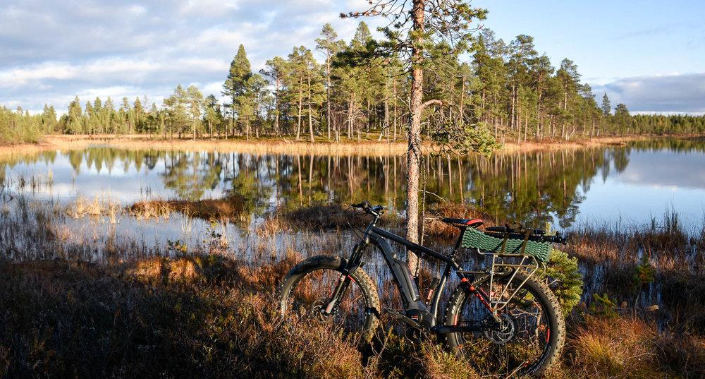 Näissä maisemissa sielu ja pyörä lepää.