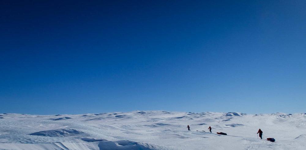 Grönlannin jälkeen Sanni Rannikon tähtäimessä on vielä suurempi tavoite.