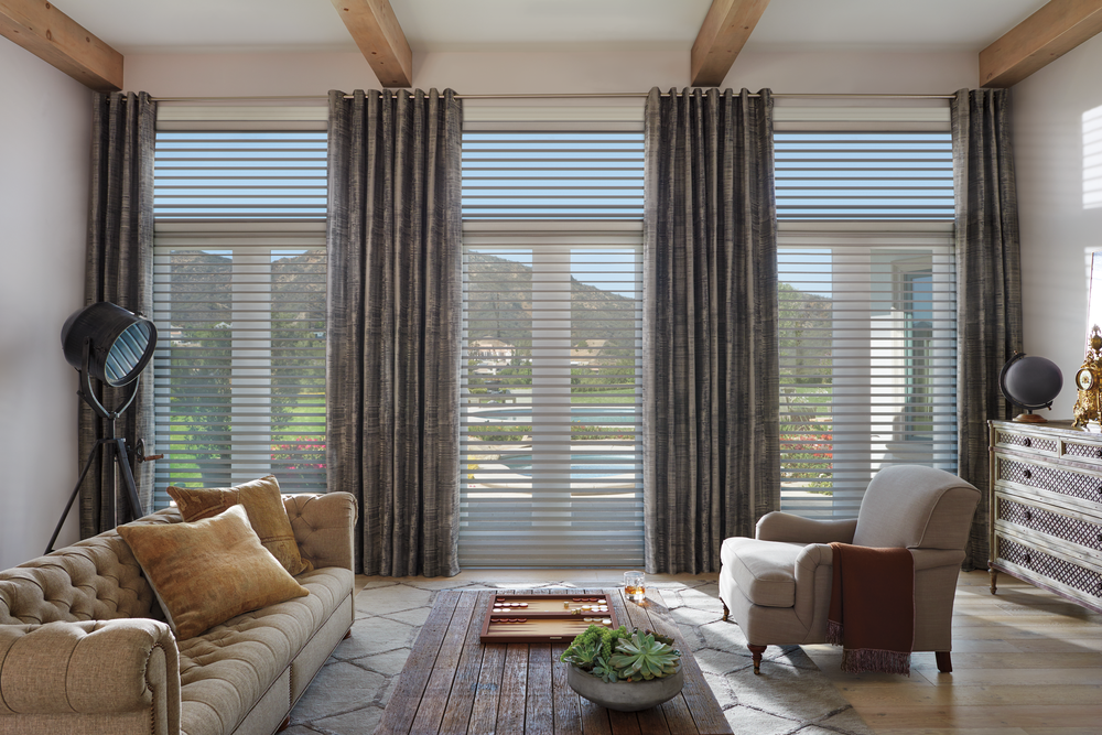 Silhouette® window shadings in masque