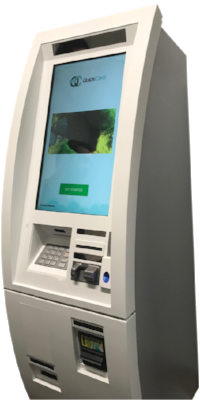 Image result for green box quick card kiosk