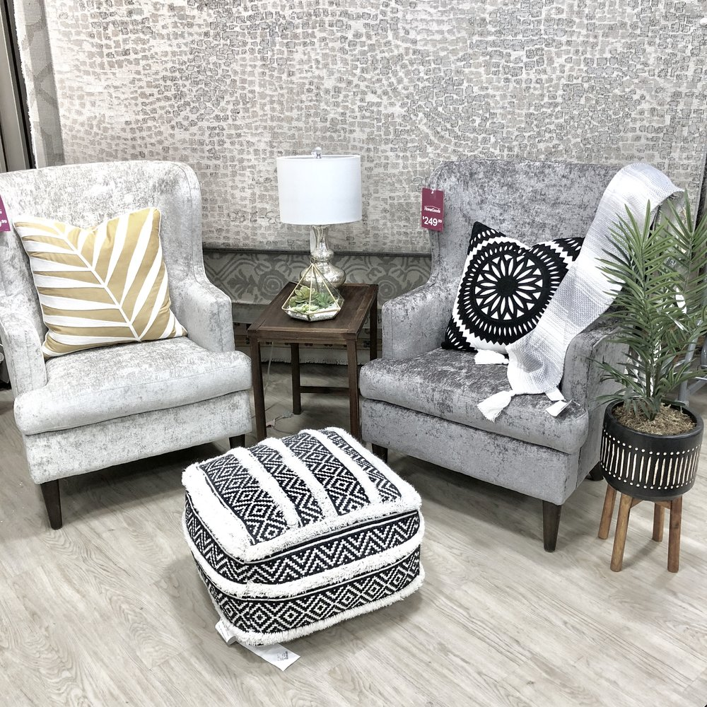 I also love living spaces but fully upholstered armchairs can be more expensive here i got lucky while shopping for a client and snagged a 650 armchair