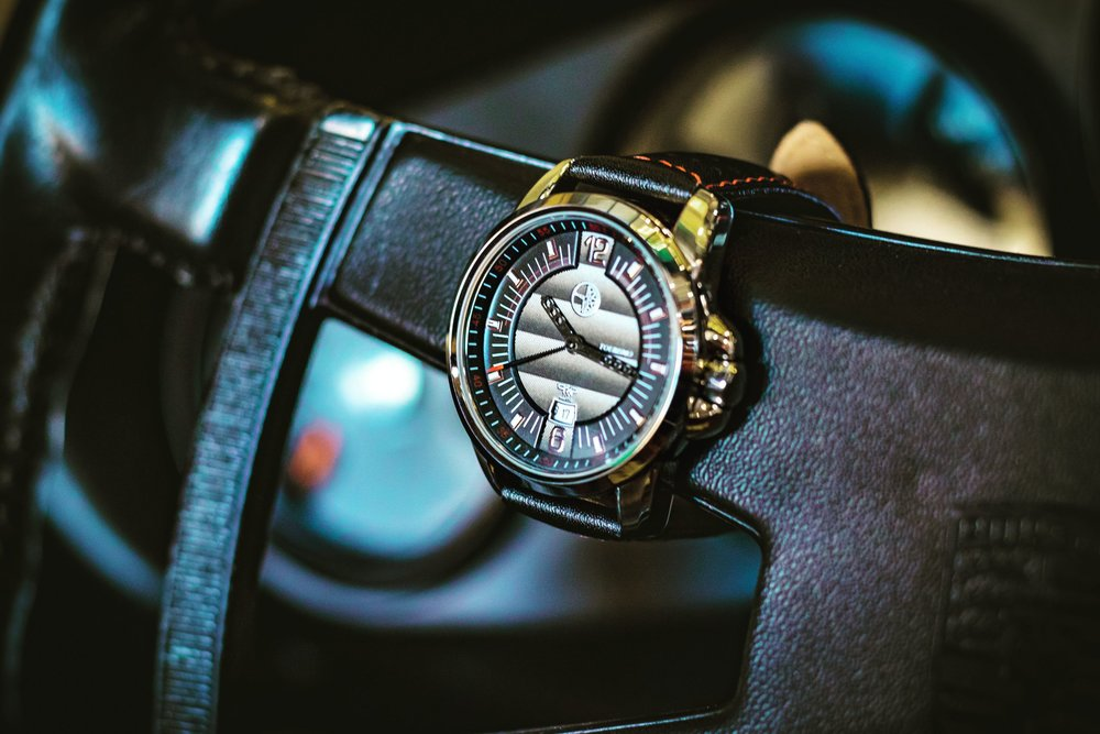 40mm Stainless steel case -