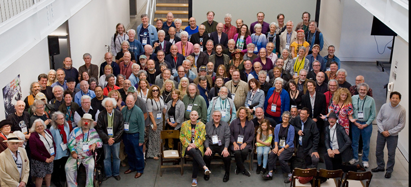 This group shot of Whole Earth Alumni who joined our celebration was taken by photographer Gary Wilson.