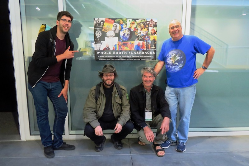Fabrice Florin and crew presented their Whole Earth Flashbacks video history. Photo by    Rob Steiner   .