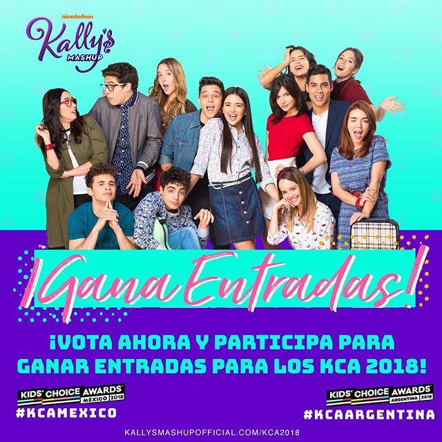 💥🎟¿Quieres ganar entradas para los Nickelodeon Kids' Choice Awards este año en México o Argentina? Comparte tu canción favorita de #KallysMashup. 🎸🎶 Infórmate más aquí ➡️➡️kallysmashupofficial.com/kca2018 #KCAMexico #KCAArgentina @mundonick