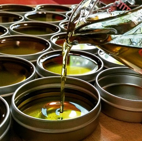 making fresh salve