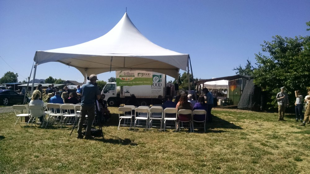 Trillium Community Health Plan and FFLC partnership celebration
