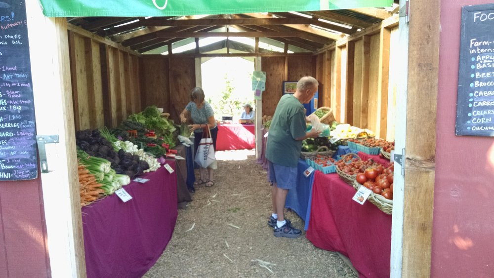 """Farm stand """"AFTER"""""""