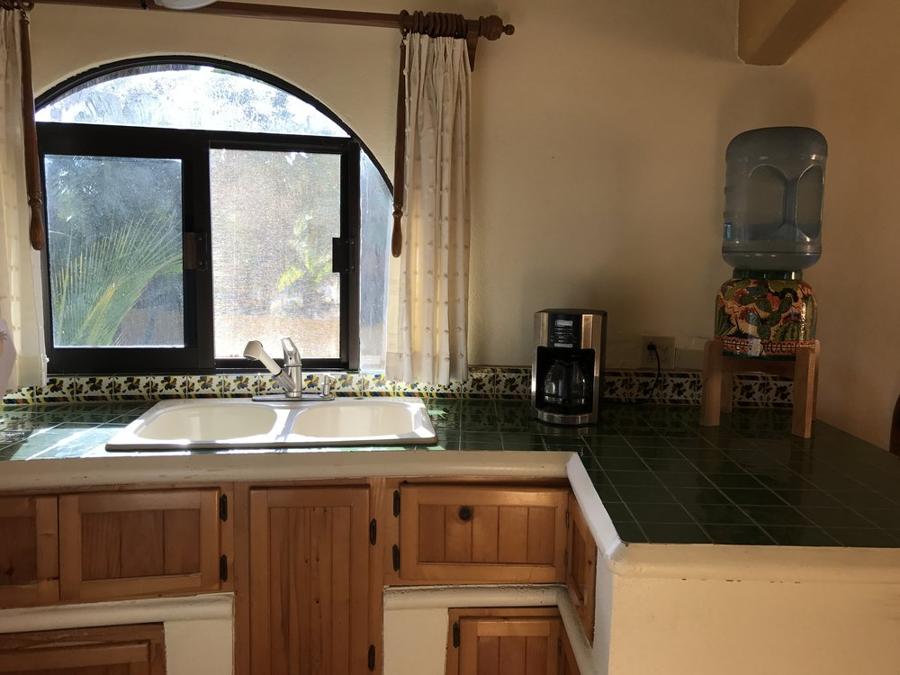 Kitchen with Authentic Mexican Tile