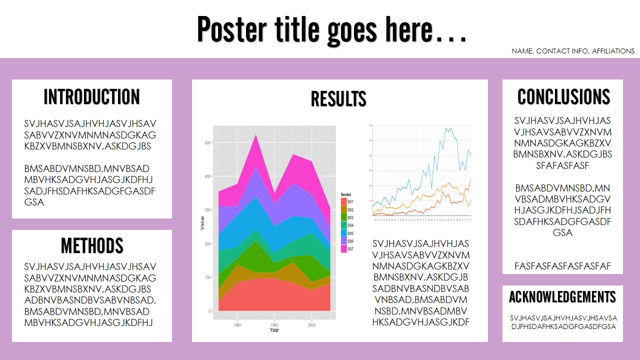 How to make a poster presentation tips for creating a poster.