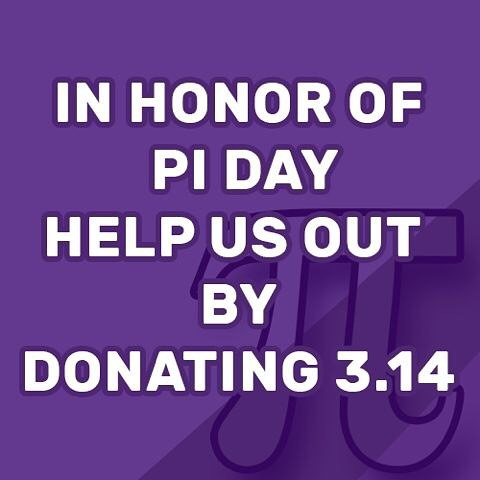 In honor of #piday considering donating $3.14 to us at the link in the description! If you do so and comment here, we'll send you a smartphone FEMSTEM wallpaper and a handwritten thank you card to your home! Thank you!! #science #women #womeninstem #stem