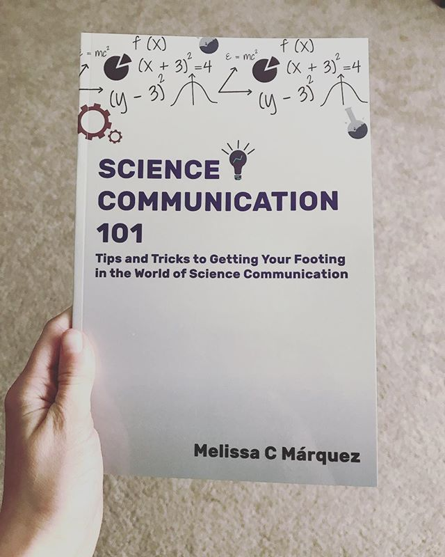 Looking for a great gift for your #womeninstem?? Help support both @melissacristinamarquez and @officialfemstem by buying Melissa's new AMAZING book!! #scicomm #sciencecommunication #science #stem #marinebiology #marinebiologist #book #gifts #greatgifts #greatgiftsideas #greatforgifts