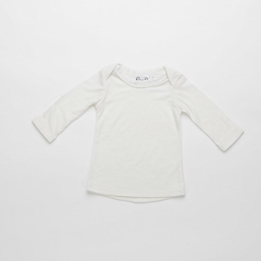 G'day Baby Merino Long Sleeve Tee  $45